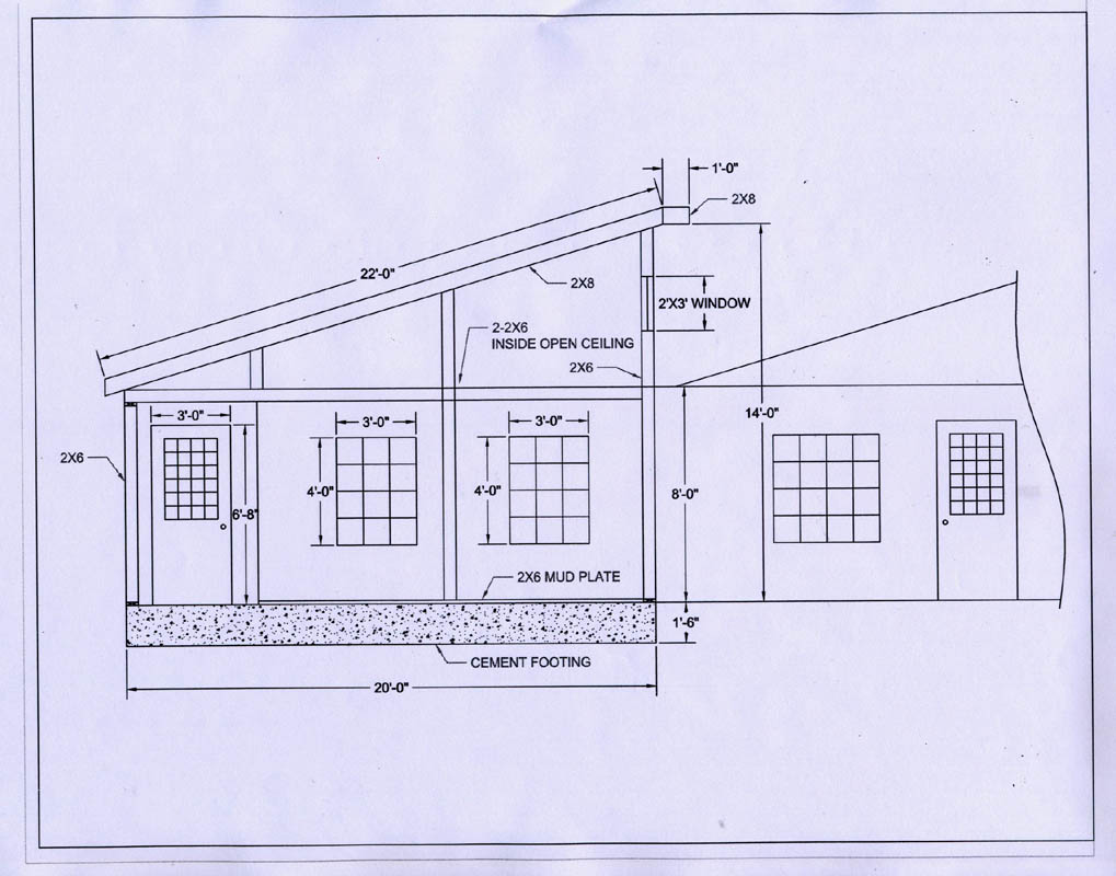 Download garage drawings autocad plans free for Cad blueprints